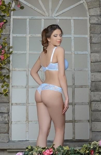 Charlotte Трусы Бразильяно голубой - фото 7919